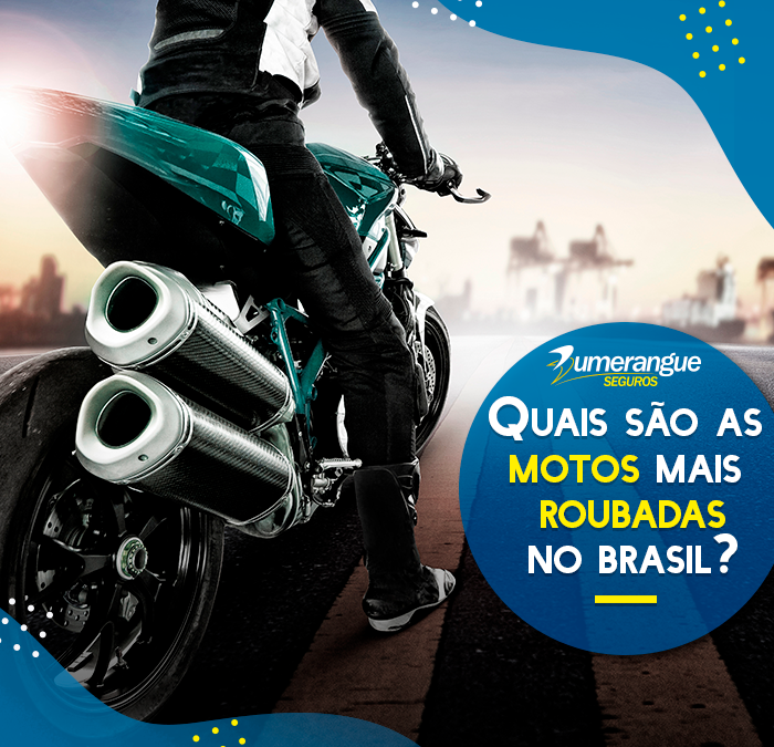 Quais são as motos mais roubadas?