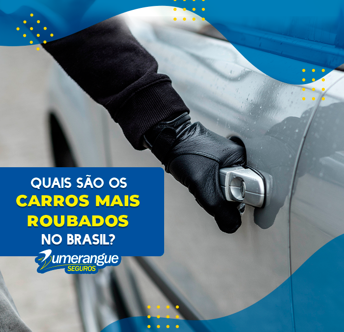 Quais são os carros mais roubados no Brasil?